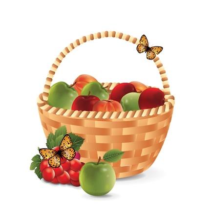 canasta de frutas: Fruit Basket