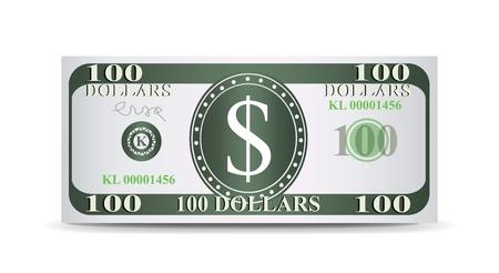 dollar bill: Dollars Illustration