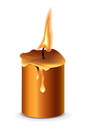 smell of burning: Candle