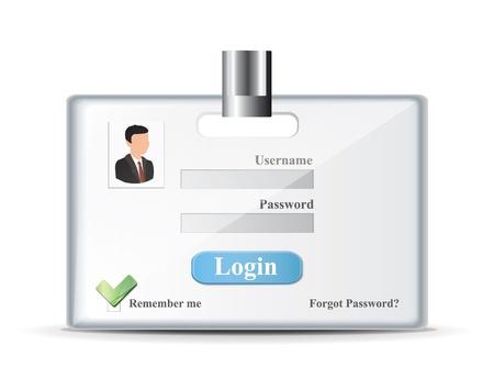 login form: Login Form