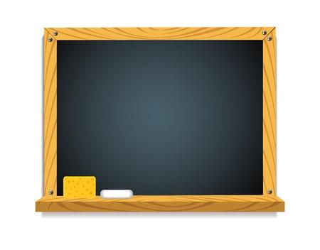 chipboard: Chalk Board  Illustration