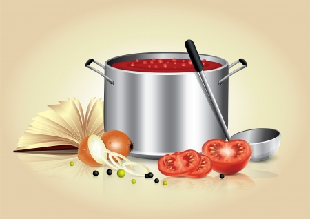 Kulinarische Banner Standard-Bild - 21177866