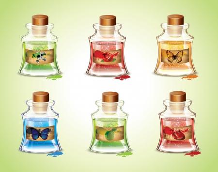 elixir: Botellas de Pociones
