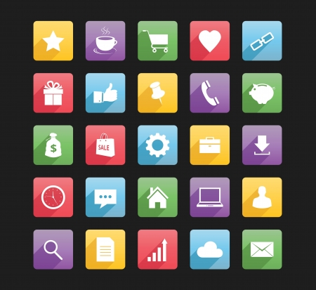 download link: Set of Web Icons