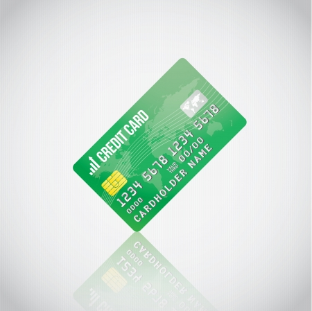 visa credit card: Green Credit Card