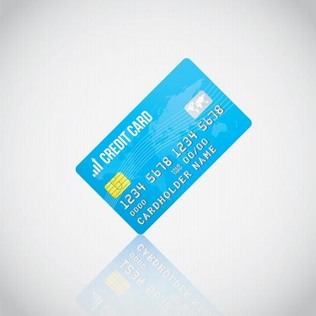 tarjeta visa: Tarjeta de crédito de Blue