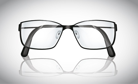 corrective lenses: Eyeglasses