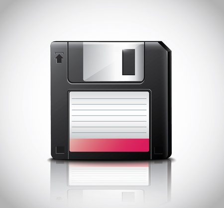 diskette: Diskette  Illustration