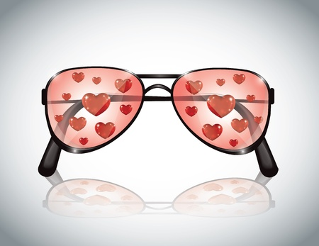 eyewear fashion: Sunglasses Heart