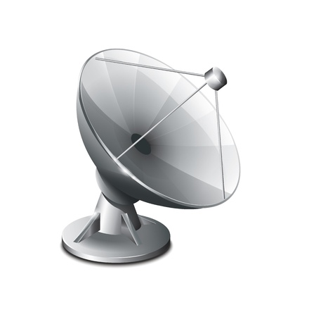 Satellite Antenna Vector