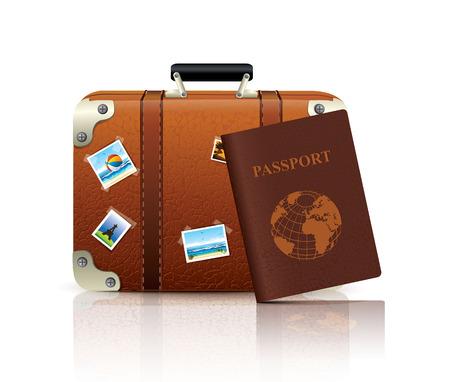 luggage tag: Travel Icon