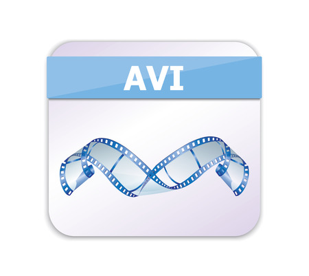 avi: AVI Icon  Illustration
