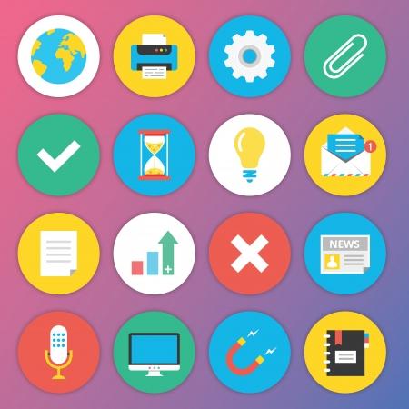 ios: Trendy premium graphismes plats pour le Web et mobiles Applications D�finir 2