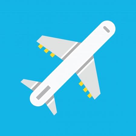 Vector Airplane Icon Stock Vector - 22712519