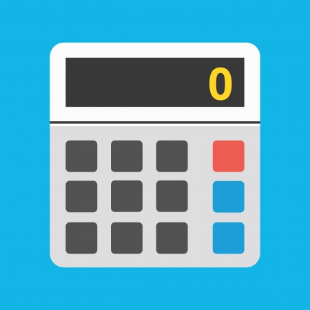 calculadora: Vector Icono de la calculadora