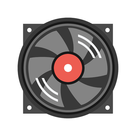 air flow: Vector Cooler Icon