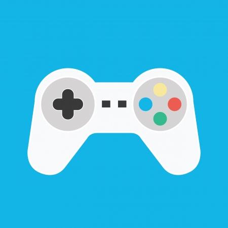 Vecteur Gamepad icône Banque d'images - 22712586
