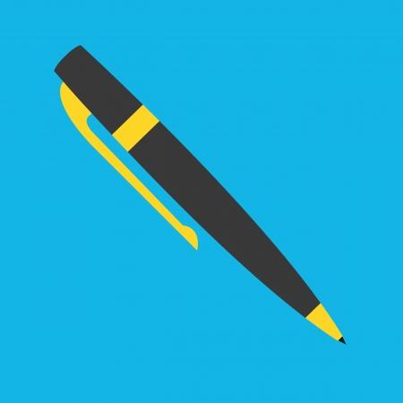 ballpoint pen: Pen Icon Illustration