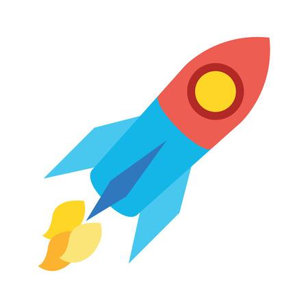 science cartoon: Rocket Icon