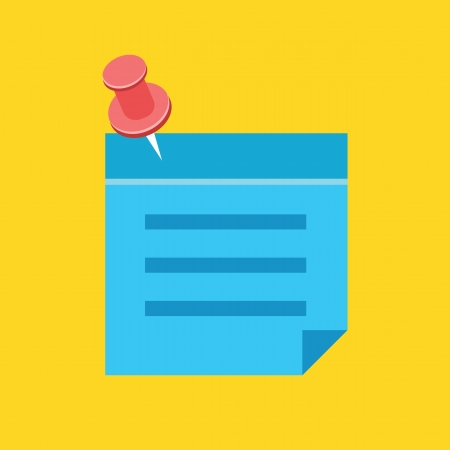 reminder icon: Sticky Note Icon