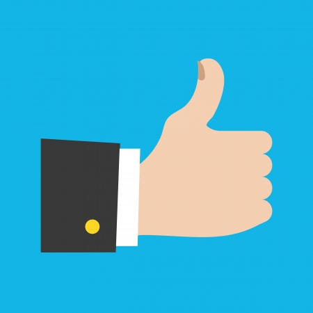 thumbs up icon: Thumbs Up Icon