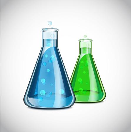 vaso de precipitado: Icono Qu�mica