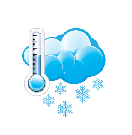 Cold Weather Icon Vector