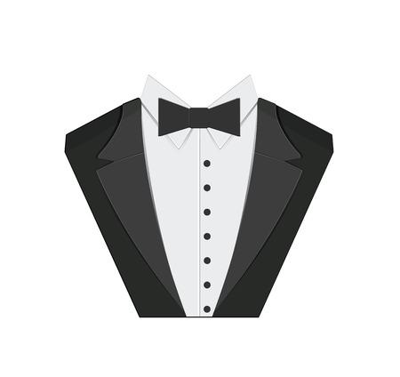 Icono Tuxedo Ilustración de vector