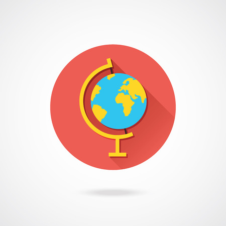 Vector Earth Globe Icon Vector