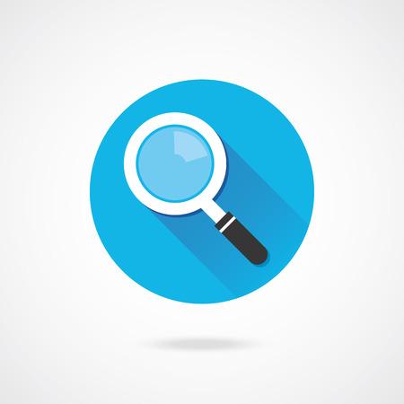 search button: Vector Search Icon