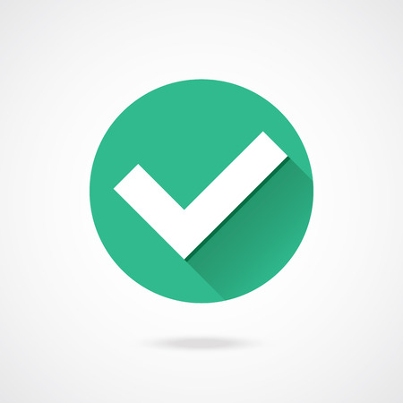 green check mark: Vector Tick Icon