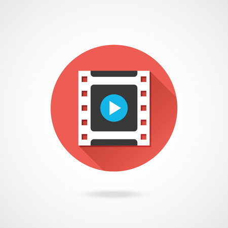 mpg: Vector Video Frame Icon