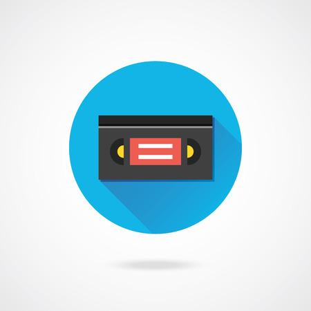 videocassette: Vector Videotape Icono