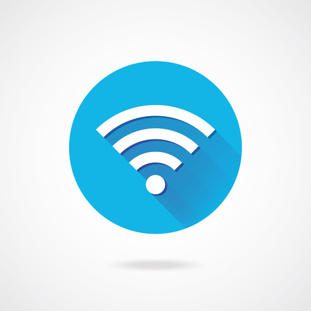 Vector Wireless Network Icon  Stock Vector - 23348255