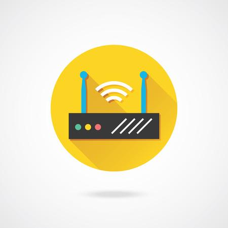 wireless network: Vector Network Router Wireless