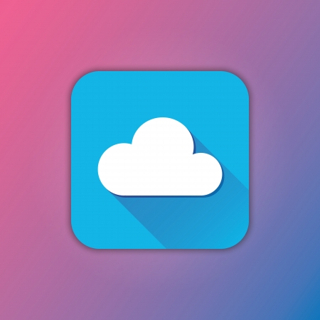Vector Cloud Icon Vector