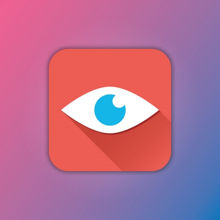 Vector Eye Icon Stock Vector - 23348499