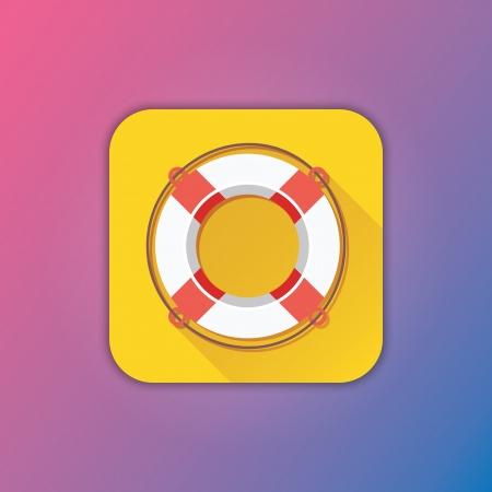 life preserver: Vector Lifebuoy Icon
