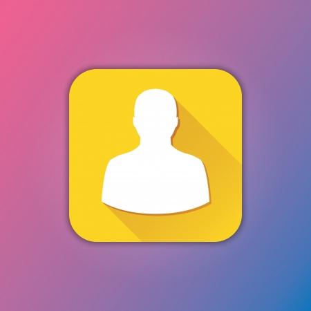 Vector Profile Icon Vector