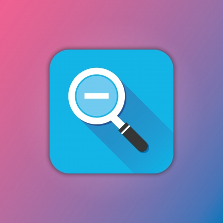 zoom out: Vector Zoom Out Icon