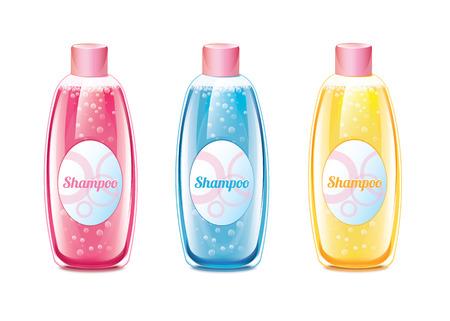 Shampoo Set Vector