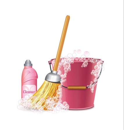 besom: Cleaning Icon  Illustration