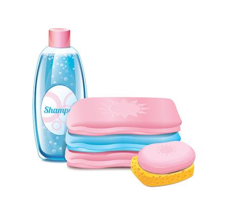 Shampooing Serviette de savon