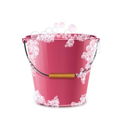 bulles de savon: Savon Bucket