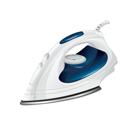 steam iron: Clothes Iron Illustration