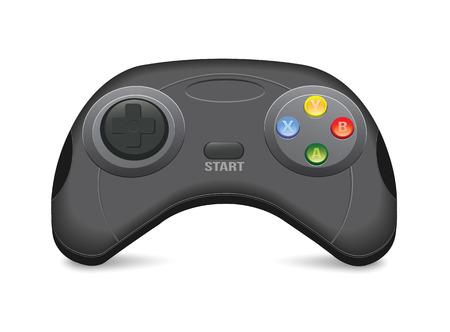 gamepad: Black Gamepad