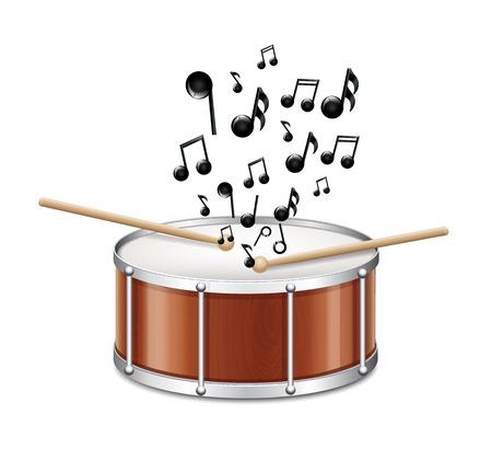 музыка: Барабан С Melody