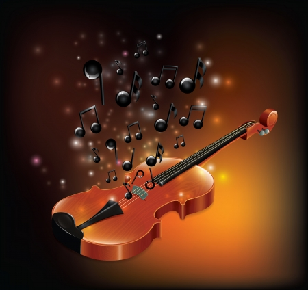 magical equipment: Violin With Melody