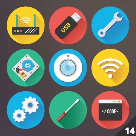 data collection: Icons for Web and Mobile Applications