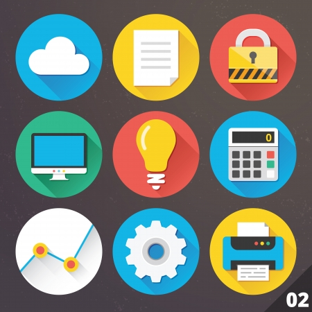 Icons for Web and Mobile Applications